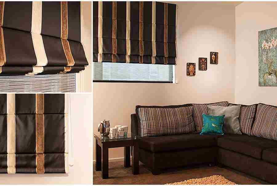 blackout roman blinds